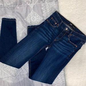 ZARA dark wash skinny jeans